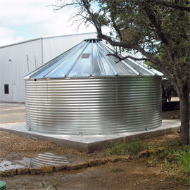 Corrugated steel tanks for sale