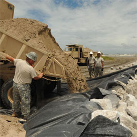 High strength geotextile